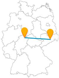 Entweder Kunst und Kultur oder luftige Höhen und Natur, die Reise mit dem Fernbus von Dresden nach Kassel ist in jedem Fall abwechslungsreich.