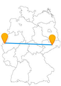 Wer sich für Mussen, Schlösser und Festungen interessiert, sitzt im Fernbus Dresden Mönchengladbach genau richtig.