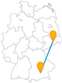 Genießen Sie mit dem Fernbus Dresden München eine abwechslungsreiche Busreise.