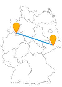 Der Fernbus Dresden Osnabrück führt Sie einmal quer durch den Norden Deutschlands.