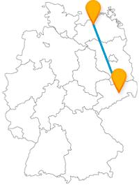 Genießen Sie auf Ihrer Reise mit dem Fernbus zwischen Dresden und Rostock Florenz-Flair und Seeluft.