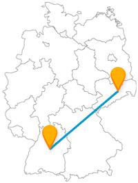 Mit dem Fernbus von Dresden nach Stuttgart verbinden Sie Historisches mit Modernem.