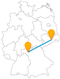 Nutzen Sie die relativ kurze Reise mit dem Fernbus von Dresden nach Würzburg für einen abwechslungsreichen Tag.