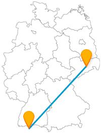Schöne Stadt? Hohe Lebensqualität? Mit dem Fernbus zwischen Dresden und Zürich finden Sie es heraus.
