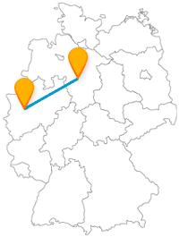 Der Fernbus von Düsseldorf nach Hannover bringt Sie