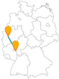 Die Fahrt mit dem Fernbus zwischen Düsseldorf und Mainz ist nicht nur in der Fünften Jahreszeit gefragt.