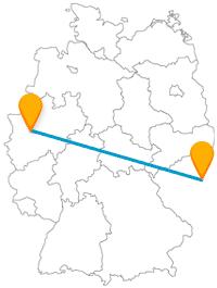 Entdecken Sie auf Ihrer Fahrt mit dem Fernbus zwischen Düsseldorf und Prag Museen und andere große Bauten.