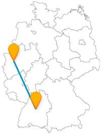 Der Fernbus Düsseldorf Stuttgart bringt Sie bequem und günstig ans Ziel.