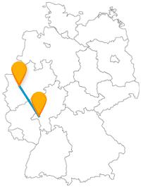 Nicht nur Kirchen werden Sie auf Ihrer Reise mit dem Fernbus von Düsseldorf nach Wiesbaden entdecken.