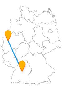Fernbusverbindung Duisburg Stuttgart