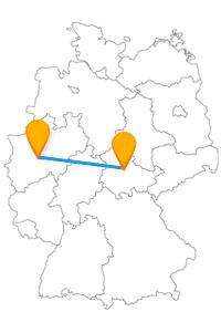 Lassen Sie sich bei Ihrer Fahrt mit dem Fernbus Erfurt Hagen von Industriekultur und historischen Bauwerken beeindrucken.