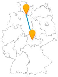 Erleben Sie mit dem Fernbus von Erfurt nach Hamburg Kultur mit Hafenflair.