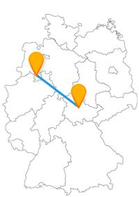 Planen Sie auf Ihrer Fahrt mit dem Fernbus Erfurt Osnabrück während der Besichtigungen auch längere Fußwege ein.