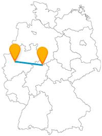 Der Fernbus zwischen Essen und Kassel bringt Ihnen die jüdische Kultur näher und führt Sie auch in die Natur.