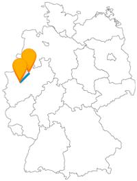 Wie wäre es auf der Reise mit dem Fernbus von Essen nach Münster mit dem Besuch bei einer historisch und wissenschaftlich interessanten Uhr?