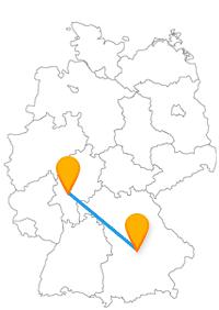 Die Reise mit dem Fernbus von Frankfurt nach Ingolstadt beschert Ihnen eine gute Aussicht vom Pfeifturm oder aber einen Blick auf das mittelalterliche Frankfurt.