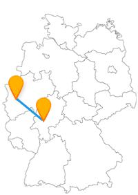 Sie möchten mehr über die römische Zeit in Neuss erfahren oder einem Ironmen beiwohnen, dann ist die Reise mit dem Fernbus von Frankfurt nach Neuss empfehlenswert.
