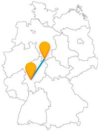 Fernbusverbindung Frankfurt Göttingen