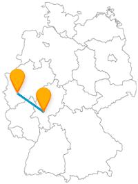 Fernbusverbindung Frankfurt Köln
