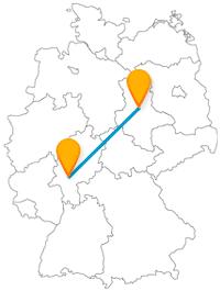 Vergleichen Sie auf Ihrer Reise mit dem Fernbus von Frankfurt nach Magdeburg die beiden berühmten Dome.