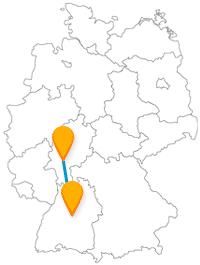 Fernbusverbindung Frankfurt Stuttgart