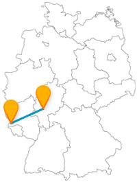 Eine Reise mit dem Fernbus von Frankfurt nach Trier auf römischen Pfaden