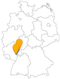 Erleben Sie mit dem Fernbus von Frankfurt am Main nach Worms eine kurze Reise zu den Nibelungen.