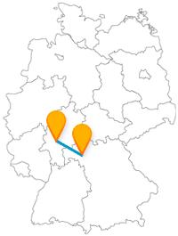 Eine kulturell interessante Fahrt mit dem Fernbus von Frankfurt nach Würzburg