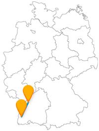 Mit dem Fernbus Freiburg Karlsruhe können Sie zwei recht ähnliche Städte besuchen.