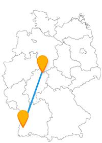 Mit dem Fernbus von Freiburg nach Kassel reisen Sie bequem zur documenta oder dem Wallgraben-Theater.