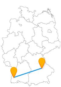 Während Ihrer Städtetour mit dem Fernbus von Freiburg nach Regensburg sehen Sie das Colombischlössle und den Dom St. Peter.
