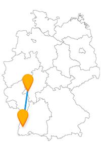 Besichtigen Sie auf der Reise mit dem Fernbus Freiburg Wiesbaden insbesondere die historischen Bauwerke.
