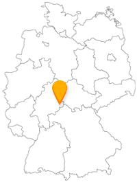Der Fernbus in Fulda