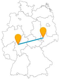 Viel Grün und Natur erwartet Sie nach der Reise mit dem Fernbus von Gießen nach Leipzig.