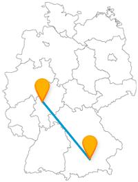 Entdecken Sie auf Ihrer Fernbusreise zwischen Gießen und München zwei tolle Botanische Gärten.
