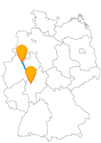 Nach der Reise im Fernbus Gießen Münster können Sie ein leichtes Kontrastprogramm erleben.
