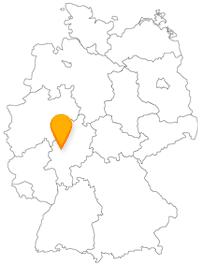 Der Fernbus Gießen ist im Busliniennetz gut eingebunden.