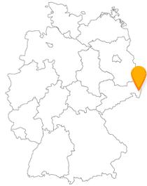 Der Fernbus in Görlitz