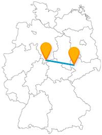 Entdecken Sie mit dem Fernbus zwischen Göttingen und Leipzig 1050 Jahre Stadtgeschichte sowie ein besonderes Denkmal.