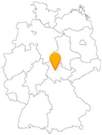 Der Fernbus in Gotha