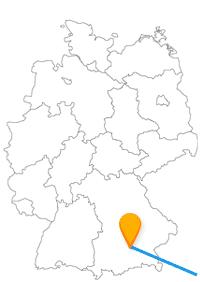 Falls Sie mit dem Fernbus Graz München unterwegs sind, können Sie sich auf das Marstallmuseum und die Murinsel freuen.