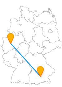 Suchen Sie es sich aus: Wird es mit dem Fernbus Hagen - München eine Busfahrt zum Wandern oder Feiern?