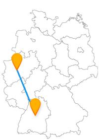 Die Reise im Fernbus Hagen Stuttgart hat interessante Bauwerke und unterschiedliche Museen zum Ziel.