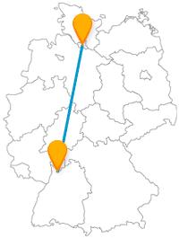 Die Städte, die der Fernbus Hamburg Heidelberg verbindet, sind beide ein Mekka an kulturellen Erlebnismöglichkeiten.