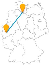 Fernbusverbindung Hamburg Köln