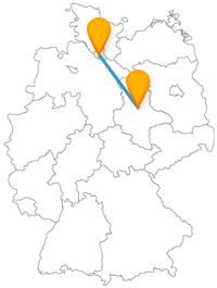 Machen Sie Ihre Fahrt mit dem Fernbus von Hamburg nach Magdeburg zu einer Entdeckungsreise.