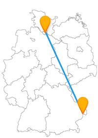 Der Fernbus von Hamburg nach Passau bringt Sie in die zweitgrößte Stadt Deutschlands und zu einer Schifffahrt auf der Donau.