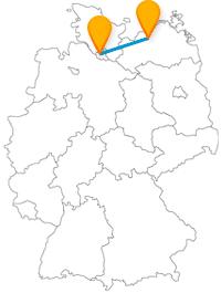 Mit dem Fernbus von Hamburg nach Rostock verbinden Sie Hafen- mit Großstadtflair.