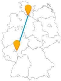 Verbringen Sie nach der Reise im Fernbus zwischen Hamburg und Wiesbaden einen entspannten Familientag.
