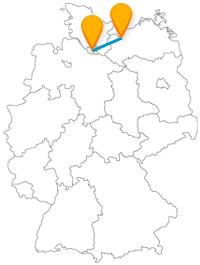 Verbinden Sie mit dem Fernbus zwischen Hamburg und Wismar zwei wunderbare Hansestädte.